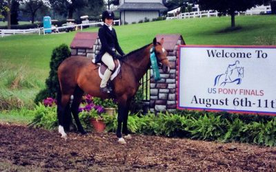 Hillcrest Songbird rides to success at USEF Pony Finals!