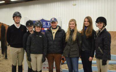 George Morris Clinic – November 23-25, 2012