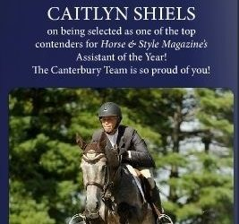 Congratulations Caitlyn Shiels!