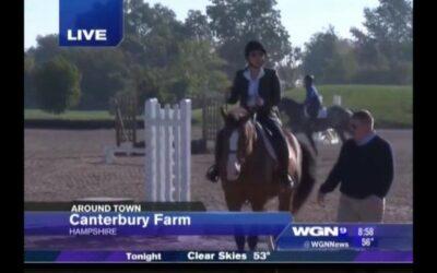 WGN visits Canterbury Farm!