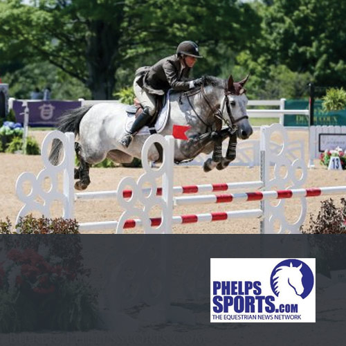 07.20.16: Caitlyn Shiels and Cavalier II second in the 1.40 meter