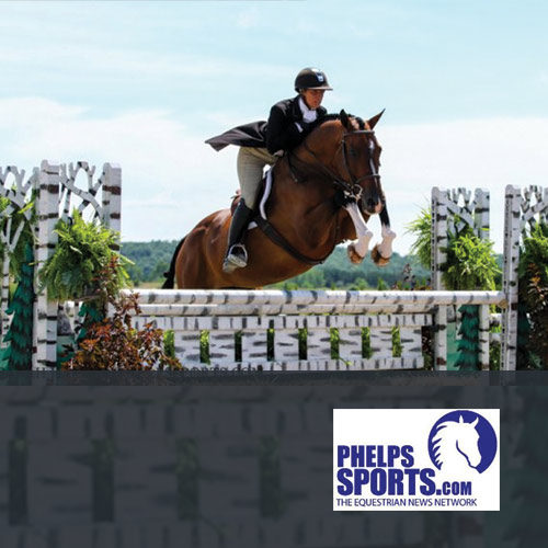 07.24.16: Caitlyn Shiels and Cassius Second in $5,000 National Hunter Derby at GLEF