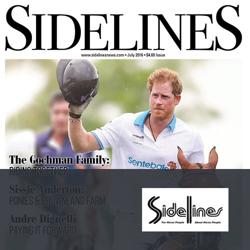 July 2016: Sidelines Magazine Ingate Page