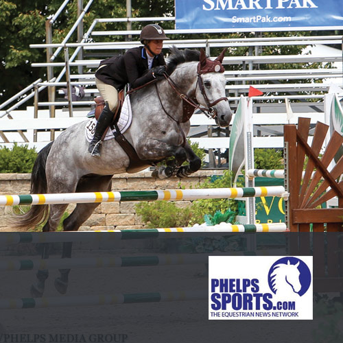 08.10.16: Congratulations to Caitlyn and Cavalier II! Winners of 1.30 at Lamplight Equestrian Center's Equifest Week III