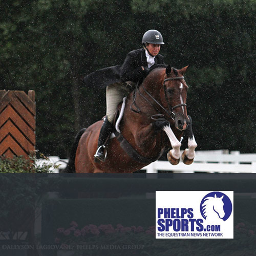 08.12.16: Caitlyn Shiels and Cassius Win $5,000 USHJA National Hunter Derby at Chicago Festival of the Horse