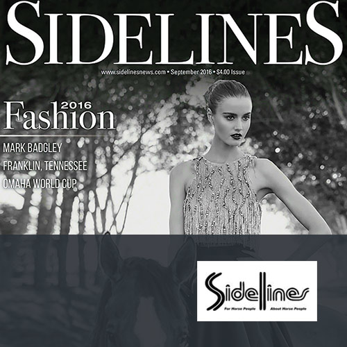 September 2016: Sidelines Column Feature, Show News
