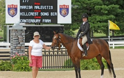 Hillcrest Songbird 8th overall in the Large Green Ponies at Pony finals!