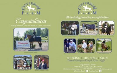 Canterbury Horses & Riders have an AWESOME 2013!!!!!